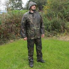 imperméable Flecktarn Camouflage Extérieur veste et pantalon survie ensemble -