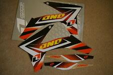 ONE INDUSTRIES GRAPHICS KTM SX SXF  2011  2012 & 2012 2013 XCW XCWF EXC