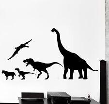 Wall Decal Dinosaur Animal Jurassic Period Dino Kids Decor z3993