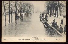 France PARIS Crue de la Seine PPC 1926 Flood
