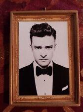 Justin Timberlake Handmade Christmas Ornament/Magnet/Dollhouse miniature