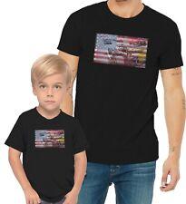 Formula 1 F1 Racing US Flag Adults Mans & Womens & Kids & Boy & Girl T-Shirt
