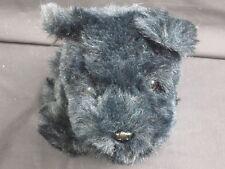 Russ Duffy Midnight Black Puppy Dog Terrier Realistic Plush Stuffed Toy