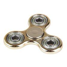 X1 toupie color tri HAND spinner  ABS Enfants Jouet EDC en métal doré