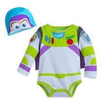 NWT Disney Store Buzz Lightyear Baby Costume Bodysuit 0 3 6 9 12 18 24M