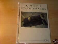 11982) Opel Omega Caravan Holland Prospekt 1992