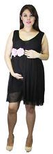 Black Wedding Maternity Dress Baby Ribbon Handmade Pregnancy Dress Flower Belt