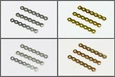 Stege Perlenstege 5-reihig, 7-reihig Verbinder Zwischenteil Verschluss, S119