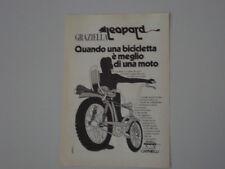 advertising Pubblicità 1971 GRAZIELLA LEOPARD CARNIELLI