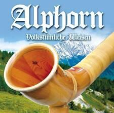 CD Alphorn Volkstümliche Weisen von Diverse Interpreten 2CDs