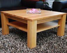 Couchtisch Wohnzimmertisch Erle massiv Holz nach Maß Echtholz mit/ohne Ablage