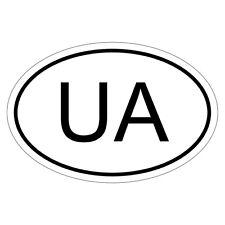 Ukraine ua-csd0070 des autocollants sticker autocollant voiture drapeau