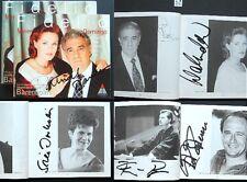 BARENBOIM DOMINGO MEIER PAPE ISOKOSKI Signed BEETHOVEN FIDELIO 2CD Autograph