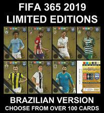 Panini Adrenalyn 2019 FIFA 365 Limited Edition Brazilian Version RARE