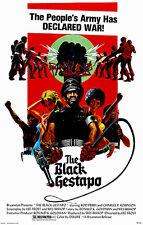 The Black Gestapo - 1975 - Movie Poster