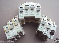 CRABTREE SB6000 TYPE 1 2 B 610 MCB 5 6 10 15 16 20 30 32 40 AMP TRIP BREAKER