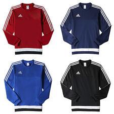 adidas Tiro15 Sweat Top Sweatshirt Pullover [M64071 S22424 S22425 S22426]
