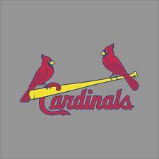 St Louis Cardinals #5 MLB Team Logo Vinyl Decal Sticker Car Window Wall Cornhole