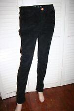 Earnest Sewn HARLAN Womens Black Corduroy Pants 28