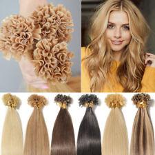 200S Russian Pre Bonded Keratin Nail U Tip Hair Remy Human Hair Extensions 100g