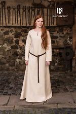 Mittelalter Unterkleid Wikinger Gewand Larp Feme - Natur