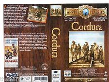 Cordura (1959) VHS Columbia Classic Video   - Gary Cooper Rita Hayworth