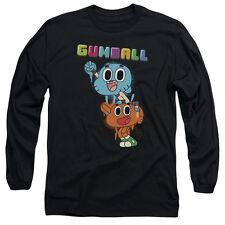 Amazing World Of Gumball Gumball Spray Mens Long Sleeve Shirt