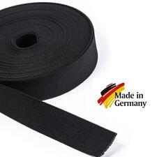 Grundpreis: 1,40 €//m 2 METER Gummiband Gummibänder Band  25 mm  rot  NEUWARE