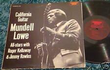 MUNDELL LOWE - CALIFORNIA GUITAR FAMOUS DOOR LP jazz