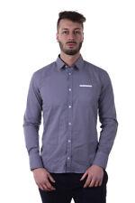 Camicia Daniele Alessandrini Shirt -45% Uomo Blu C6368R1119NO3600-23