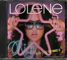 LOLENE Everett Rich Fake it til you make it RARE 1 TRK PROMO RADIO DJ CD Single