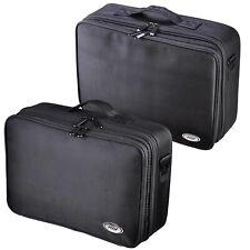 "AW® 1200D Oxford Makeup Train Case Cosmetic Organizer Storage Bag Soft 13"" 15"""