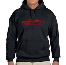 1964 Ford Galaxie Convertible Classic Black Hoodie Sweatshirt FREE SHIP