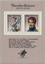 BRD 1991:Theodor-Körner-Block Nr. 25, postfrisch! 1A! 1605