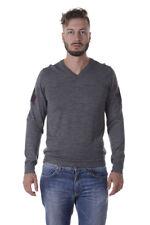Maglia Daniele Alessandrini Sweater -55% Italy Uomo Grigio FM73134U3605-49