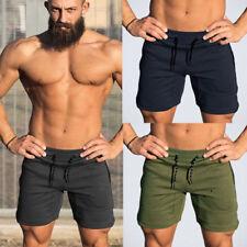 Men's Gym Casual Sports Jogging Elastic Waist Shorts Short Pants Summer Trousers