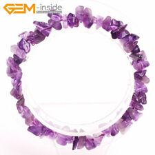 """Handmade Chips Gemstone Bead Bracelet Healing Chakra Reiki Jewellery Gift 7"""" UK"""