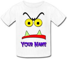 Piccolo mostro personalizzata Baby T-Shirt-fantastico regalo per qualsiasi bambino & anche con NOME