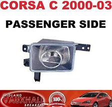 Vauxhall Corsa C 2000-03 Sxi Sri Luz Luz Antiniebla Delantera Lado Pasajero Casi Nuevo