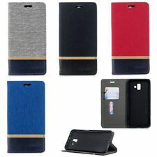 Handy Hülle Case #AQ1 Jeans zu SAMSUNG GALAXY J6 PLUS Schutz Tasche Smartphone