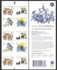 Suecia 2005 árbol de Navidad saludos///Perro/niños/animación 10v Gamma (n34009)