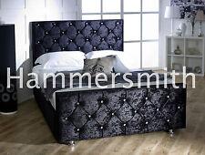 Special Princess Upholstered Crushed Velve Beds 3FT, 4FT6, 5FT SALE!!!