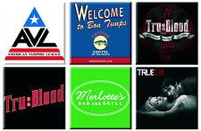 True Blood Fridge Magnet Classic Drink Logo new Official 76mm x 76mm
