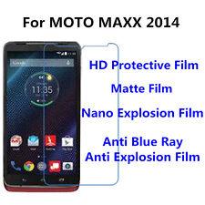 3pcsFor MOTO MAXX 2014 Nano Explosion/Anti Blue Ray Screen Protector