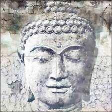 Buddha Tile Backsplash Agata & Hector Asian Art Ceramic Mural OB-AGA62
