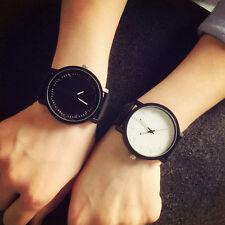 Round Analog Casual Waterproof Quartz Wrist Watch UK