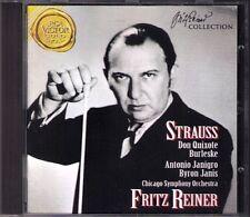 Fritz REINER Richard STRAUSS Don Quixote Burleske BYRON JANIS Antonio Janigro CD