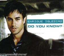 ENRIQUE IGLESIAS - Do You Know? (UK 2 Tk CD Single Pt 1)