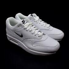 quality design 01e59 4e0e6 NWT Nike Air Max 1 Premium SC Jewel Swoosh White Black Men s Sneakers  AUTHENTIC