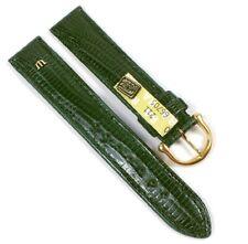 Maurice Lacroix Ersatzband Uhrarmband Echt Teju-Eidechsen-Leder Grün 21552G